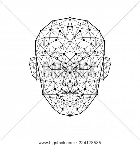Human Face Low Vector & Photo (Free Trial) | Bigstock