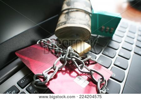 Protect Your Assets & Accounts Stock Photo High Quality