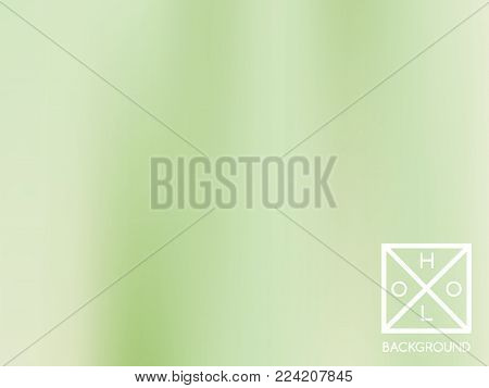 Green mesh gradient.  Blue sparkly cover. Abstract soft pastel color backdrop.  Trendy creative vector foliage gradient. Mesh gradient foil.  Creative grass template for banner. Vibrant green print.