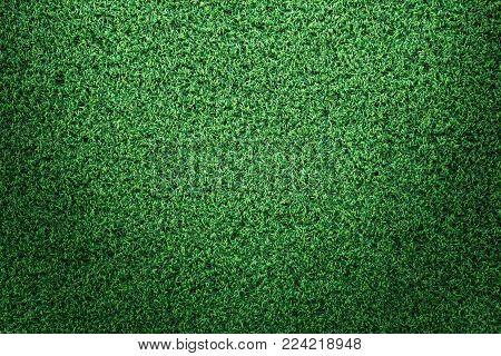 Green grass texture or green grass background. green grass for golf course, soccer field or sports background concept design. Artificialgreen grass.