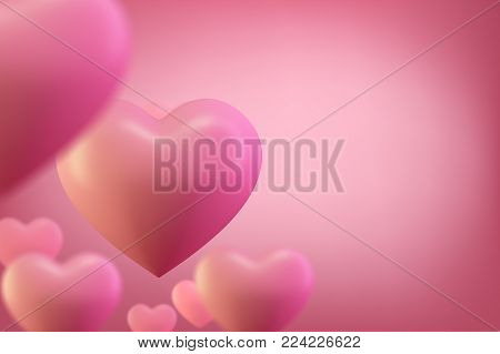 Love heart background. Valentine background. Romantic wedding background, valentines day