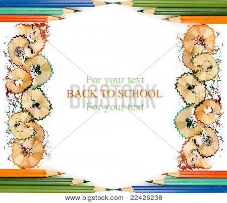 Colorful Pencil Card