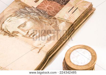 Brazilian money concept