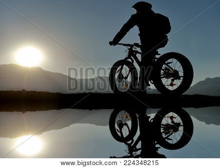 bicycle sports, reconnaissance, landscape and health, cycling