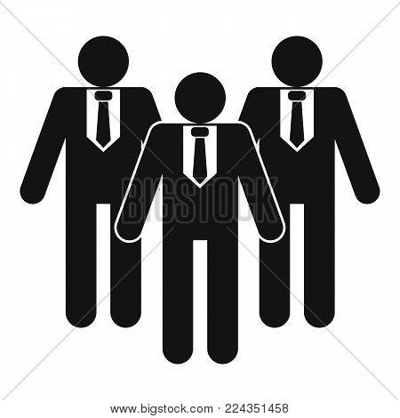 Board directors icon. Simple illustration of board directors vector icon for web