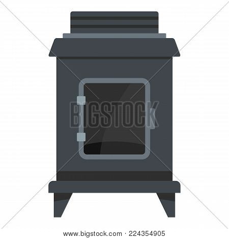 Old oven icon. Cartoon illustration of old oven vector icon for web