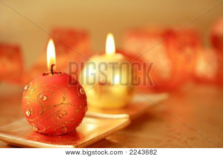 Beautiful Christmas Candles