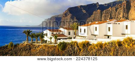 Tenerife - luxury apartments in Los Gigantes area. Canary islands