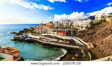Tenerife holidays - pictorial Puerto di Santiago, Canary islands