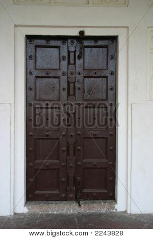 Agra Fort Door