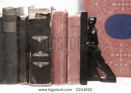 Red And Black Books Desat