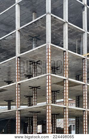 Monolithic Reinforced Concrete Structure Of High-rise Building