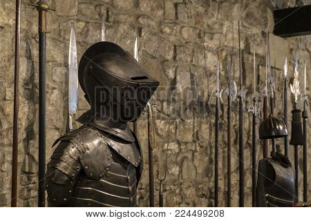 Knights armor of a Hungarian warrior. So called Cancer or Hungarian breast (Hungary, 16th century)