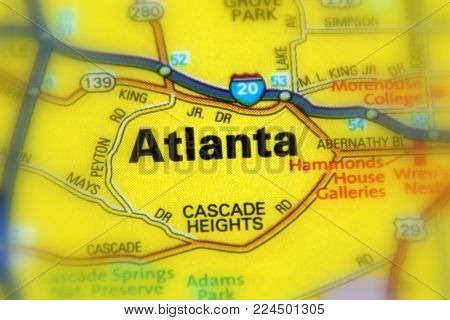 Atlanta is the capital of the state of Georgia, United States (US).