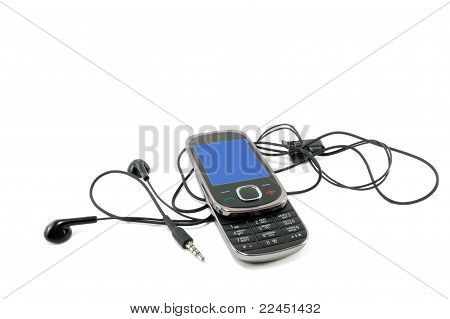 Mobile Phone With Accessories