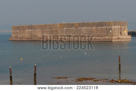 Mulberry Harbour, Portland - ready for D-Day landings
