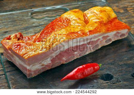smoked pork rib