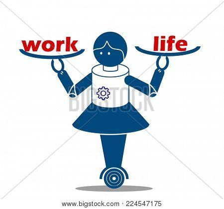Even robot needs work life balance