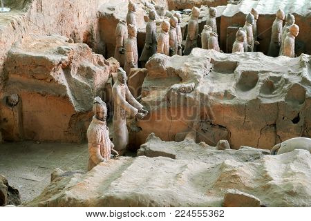 The Terracotta Warriors Of China