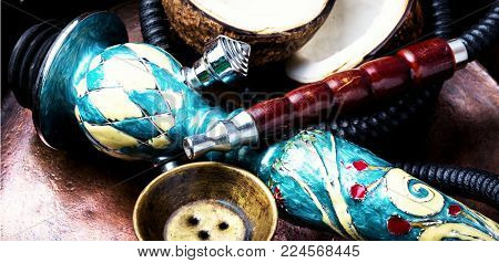 Hookah With Coconut