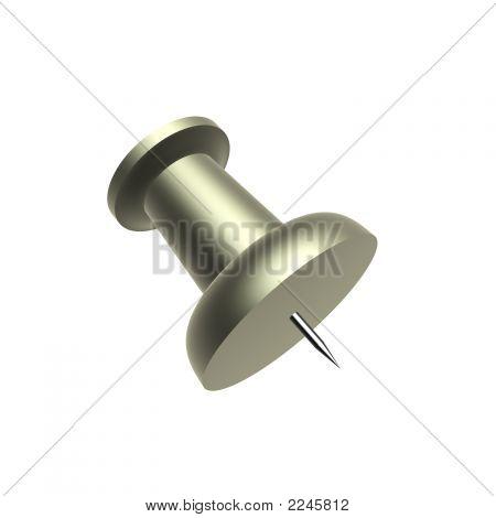 Metallic Pushpin
