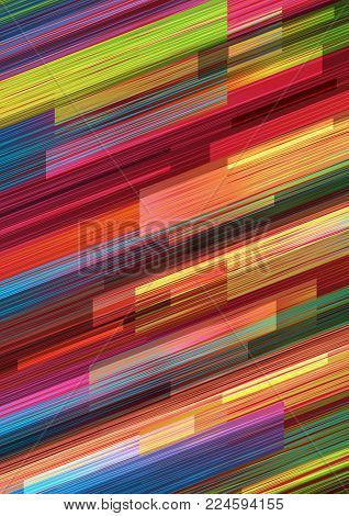 Geometric background in vibrant colors.Abstract vector illustration.