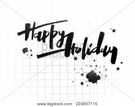 happy holidays vector photo free trial bigstock
