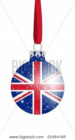Christmas ball - United Kingdom