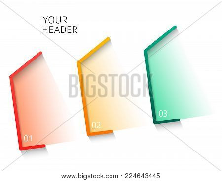 Abstract house concepts infographics style on grey background with place your message. Vector illustration EPS 10 for business workflow layout, web design, banner template, brochure design elements