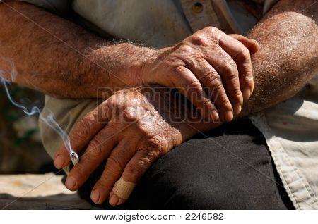 Hard Worked Hands