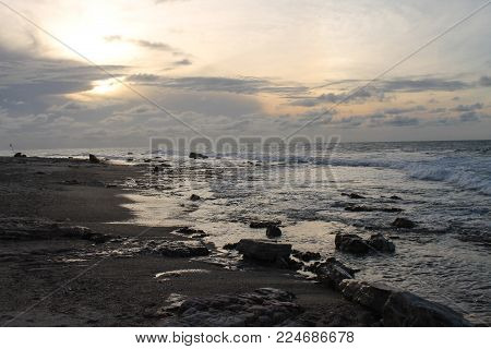 Sunset at Malhada Beach - Jericoacoara - Brazil