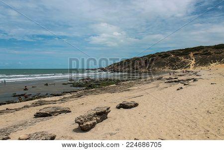 Malhada Beach in Jericoacoara - Ceara - Brazil