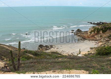 Little cute beach in jericoacoara - Ceará - Brazil
