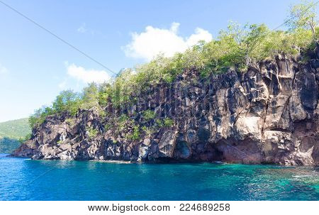 Anse Mitan - Fort-de-France - Martinique - Tropical island of Caribbean sea, French West Indies.
