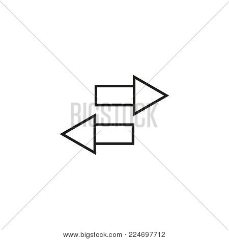 Export document icon on the white background
