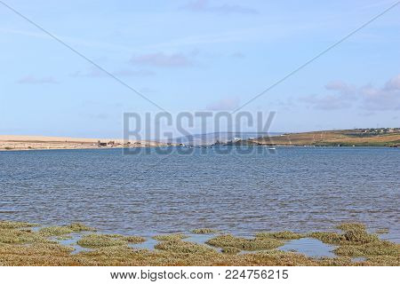 Chesil Bank And The Fleet Basin In Dorset