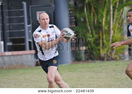 DARREN LOCKYER TRAINING