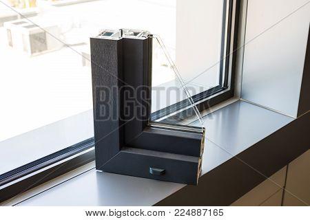 Aluminum Or Pvc Window Profile