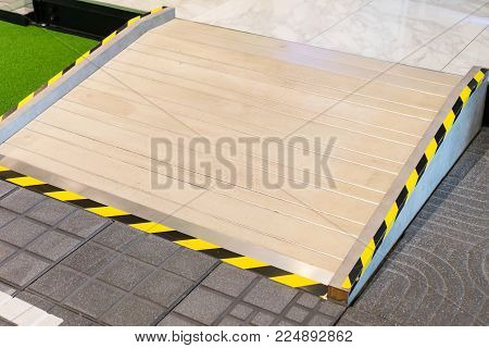 Ramp Way For Support Wheelchair And Disabled People