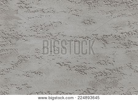 Dark Gray seamless stone texture venetian plaster style background pattern. Traditional venetian plaster stone texture grain drawing. Stone rock gray grunge texture interior decoration element. Dark gray plaster stucco texture