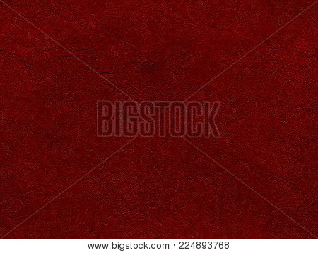 Dark red seamless stone texture. Red venetian plaster background seamless stone texture. Traditional venetian plaster rock stone texture grain pattern drawing. Bloody background grunge wall stucco texture
