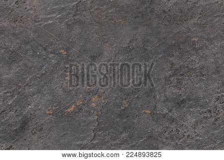 Dark gray seamless venetian plaster background stone texture. Traditional venetian plaster stone texture grain pattern drawing. Gray grunge texture. Gray seamless stone texture background. Natural stone texture seamless