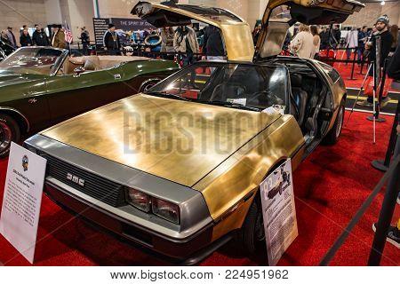 PHILADELPHIA, PA - Feb 3: a AMC Deloran the 2018 Philadelphia Auto Show