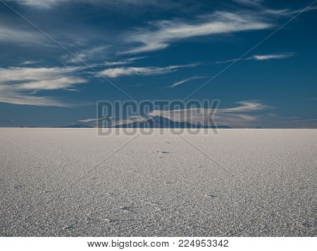 Mount Tunupa, a dormant volcano in the Potosi Department of southwestern Bolivia, stands on the northern side of the Salar de Uyuni.