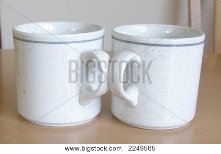 Pair Coffee Mugs