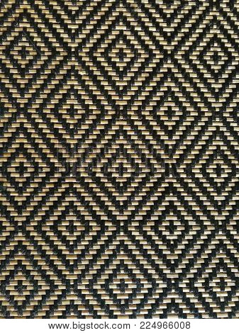 Bamboo woven background