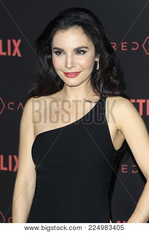 LOS ANGELES - FEB 1:  Martha Higareda at the