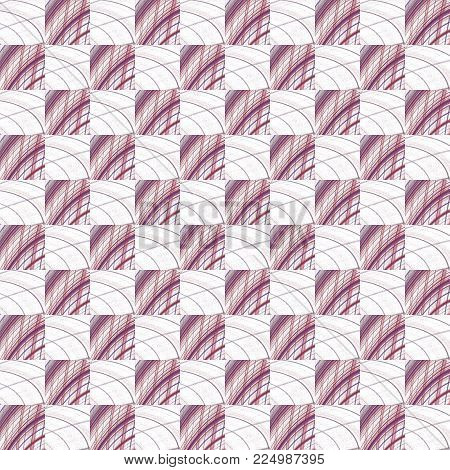 Grunge Seamless Maroon Texture Broken Fractal Patterns