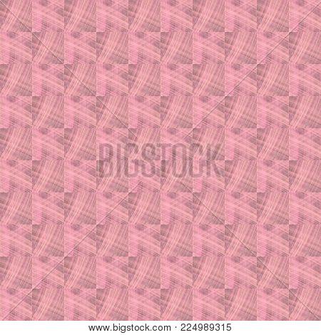 Grunge Seamless Pink Texture Broken Fractal Patterns