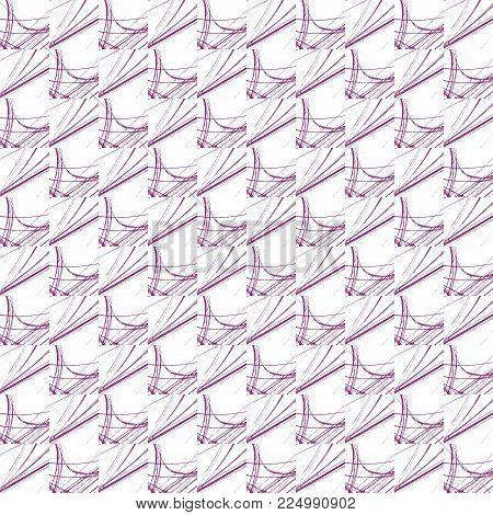 Grunge Seamless Purple Texture Broken Fractal Patterns